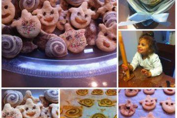 עוגיות שבלולים וליצנים