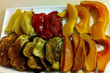 אנטיפסטי – ירקות קלויים בתנור